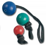 Solid Rubber Ball on rope